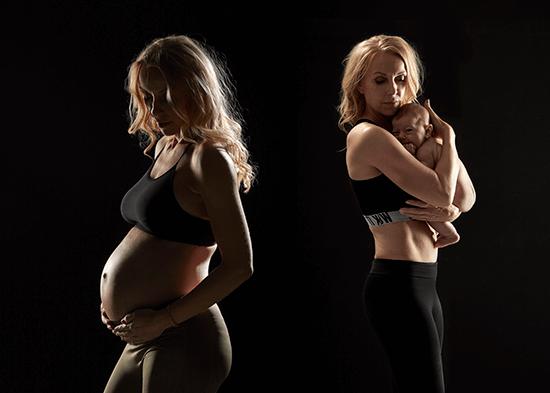 lotte-arndal-gravid-træning